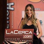 Miriam Martínez, presentando la Gala de entrega de los XI Premios Taurinos Samueles correspondientes a la Feria de Taurina de Albacete 2016