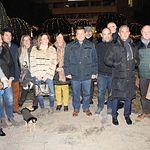 Encendido oficial de las luces de Navidad en Albacete.