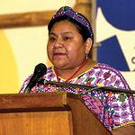 """Rigoberta Menchú, Premio Nobel de la Paz, asegura que """"el agua es el corazón de los problemas de la Tierra""""."""