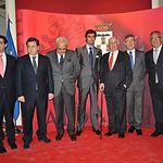Trofeos Taurinos Feria de Albacete 2013 - Foto de grupo de los premiados y autoridades.