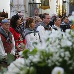 Misa previa a la Ofrenda a la Virgen de Los Llanos en la Feria de Albacete 2019. Foto: Manuel Lozano García / La Cerca
