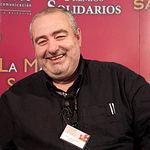 Santi Santamaría, cocinero del restaurante El Racó de Can Fabes (San Celoni, Barcelona).
