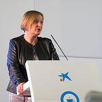 Mª Jesús Catalá, Directora Territorial de CaixaBank en Castilla-La Mancha y Extremadura, Coffee & Break, la tertulia con Empresas de CaixaBank