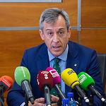 Javier López, presidente de Caja Rural Castilla-La Mancha