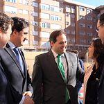 Núñez se reune con CEOE CEPYME CUENCA.