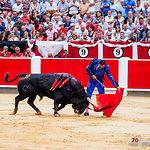 El Fandi - Primer Toro - Corrida 09-09-17