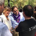 Paco Núñez-PP en Vermú Solidario-Guadalajara