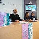 Presentación de la campaña de sensibilización de la Asociación In Género dirigida a mujeres víctimas de trata. Foto: Manuel Lozano Garcia / La Cerca