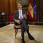 Mensaje de Navidad de S.M. El Rey Felipe VI. © Casa de S.M. el Rey