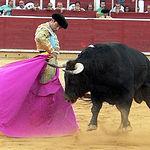 Enrique Ponce en su segundo toro.