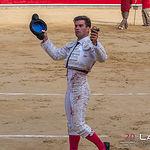 Feria Taurina Albacete 2019 - Primer toro Rubén Pinar.