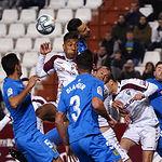 Partido entre el Albacete Balompié y el Fuenlabrada de la Liga SmartBank jugado el 14 de enero de 2020. Foto: Manuel Lozano García / La Cerca