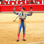 Rubén Pinar - Su primer toro-8 - eria Taurina Albacete - 14-09-16 - Para web