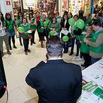 Acto conmemorativo del Día Mundial Contra el Cáncer en Albacete
