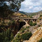 El turismo rural es el que más ha despuntado en los primeros meses de 2009. Foto: Pontarrón en Ayna (Albacete).