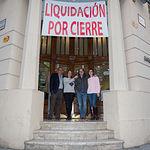 """Foto de grupo de los trabajadores de """"Jaque"""""""