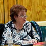 Margarita Rey Suñé, en la presentación de la Plataforma Albacete Concejo Abierto en el Ateneo de Albacete