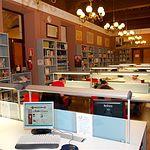 Panorámica de la Biblioteca del Instituto de Estudios Albacetenses.