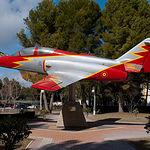 Patio de Armas de la Maestranza Aérea de Albacete.