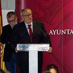 Tomás Mancebo, presidente del Ateneo de Albacete, Gala de Entrega de Trofeos Taurinos de la Feria 2018