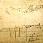 Plano y perfil de la mina de Almadén, año 1796.