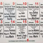 Cartel de la Feria Taurina de Albacete 2017