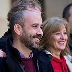 Presentación de la candidatura de Unidas Podemos a las elecciones municipales en Albacete, en la foto, Alfonso Moratalla