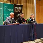 """Presentación de la 3ª Edición del """"Master in Executive English"""" de la Fundación Eurocaja Rural y LIFE. Foto: Manuel Lozano Garcia / La Cerca"""