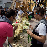 Ofrenda de Flores a la Virgen de Los Llanos