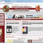 """La ampliación de la Web ha dado como resultado una versión virtual de la """"Gazeta Don Juan Manuel"""""""