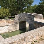 Puente del Gran Prior en Alameda de Cervera. Se terminó de construir a finales del año de 1799.