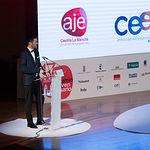 Manuel Murcia, presidene de AJE