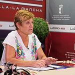 Carmen Guerrero Alfaro, responsable de medios de comunicación del Grupo de Danzas Manchegas Magisterio