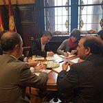 Firma contrato Diputación-Bankia.