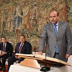 José Luis Martínez Guijarro toma posesión de la Vicepresidencia Primera del Gobierno de Castilla-La Mancha. (Fotos: José Ramón Márquez // JCCM)