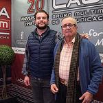 """Oscar Colmenar y Juan Cantos """"Pimpi de Albacete"""", empresarios de caballos de picar"""