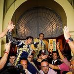 Enrique Ponce y Roca - Rey - Puerta grande - Feria Taurina - 13-09-18 - Foto Luis Vizcaíno