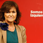 Carmen Calvo. Archivo.