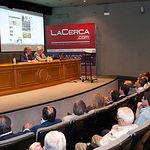Momento de la presentación de la nueva plataforma de La Cerca.