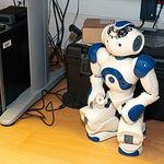 Robot utilizado para sus distintos proyectos en el laboratorio de Sistemas Inteligentes y Minería de Datos (SIMD).