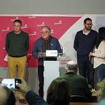 Salvador Jiménez da a conocer los resultados de las votaciones a la Secretaría Provincial del PSOE de Albacete