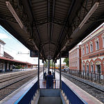 Estación de Ferrocarril de Alcázar de San Juan. Todo un símbolo de la población.