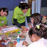 Cruz Roja trabaja también con los más jóvenes a través de Cruz Roja Juventud.