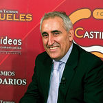 El magnífico cocinero toledano, Adolfo Muñoz, momentos antes de ser entrevistado en La Cerca Televisión.