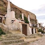 Cuevas típicas en la localidad de Chinchilla de Montearagón, a 13 km. de Albacete.