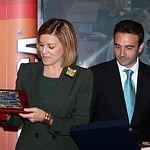 Cospedal en la Gala de entrega de los IX Premios Taurinos Samueles_2. Foto: JCCM.