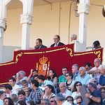 Palco de Presidencia de la Plaza de Toros de Albacete - Corrida del 10-09-16