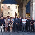 Minuto de silencio en Cuenca por los atentados de Barcelona.