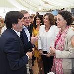 Magdalena Valerio en la Feria de Albacete