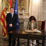 Carmen Calvo se reúne con Ximo Puig - AQUARIUS - REFUGIADOS (4) - 14-06